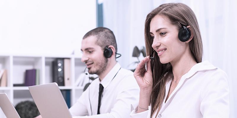 Business call representatives